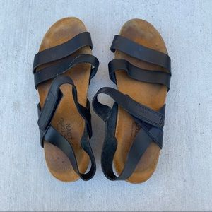 NAOT women's strap leather sandals size 40